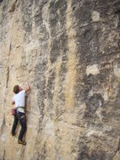Rock Climbing Photo: Jack on Cleveland Steamer, 5.11b  THIS ROUTE IS TH...