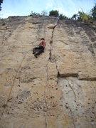 Rock Climbing Photo: Jack climbing Wanna Play Doctor?