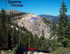 Rock Climbing Photo: Topo To Coronet