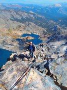 Rock Climbing Photo: Approaching the summit