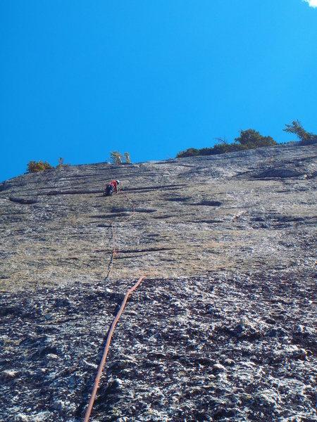 Rock Climbing Photo: Pitch 2 & 3