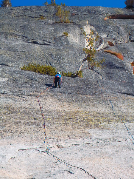Pitch one - bolted like the gym