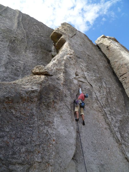 Rock Climbing Photo: This butt shot gives slightly more value in terms ...