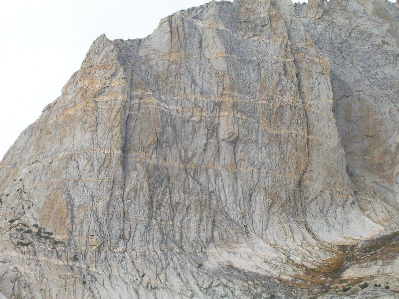 Rock Climbing Photo: E. Face of N Pk.