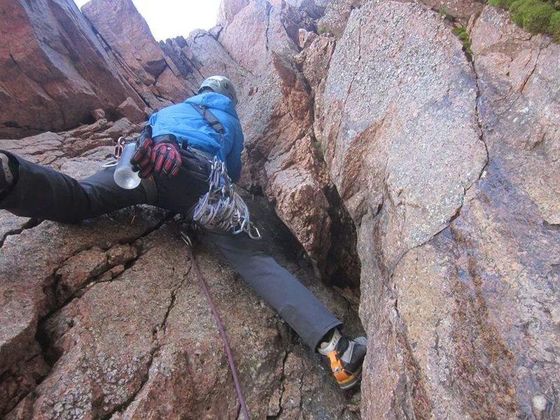 Rock Climbing Photo: Choss.
