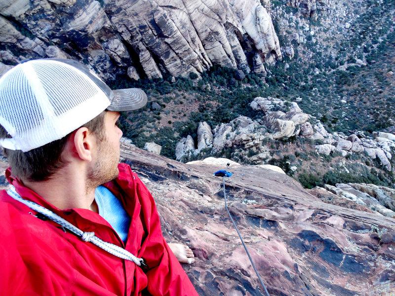 Summit looking down