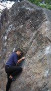 Rock Climbing Photo: Jasmin's first time