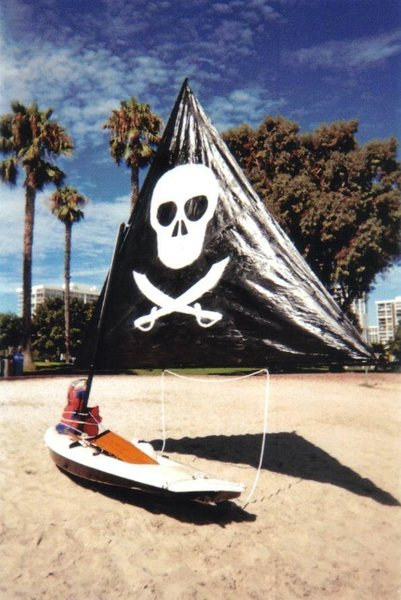 DK Pirate Ship<br> <br> DK = Dead Kennedys<br> <br> DK Pirates = the non-flaming variety