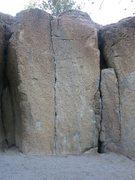 Rock Climbing Photo: at the Bachar Boulders.  June Lake