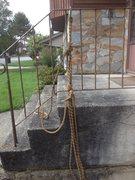 Rock Climbing Photo: ascension rig penberthy, 10mm same rope