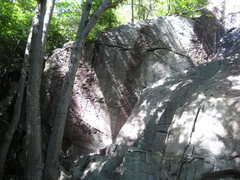 Rock Climbing Photo: The Corner.