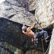 Rock Climbing Photo: chris vultaggio on balrog
