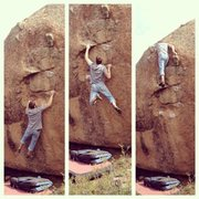 Rock Climbing Photo: Building Blocks, v6-