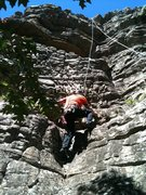Rock Climbing Photo: Just above the start. Photo by Boogie