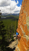 Rock Climbing Photo: Eye Candy Arete, near Sheridan, WY. Trevor Bowman ...