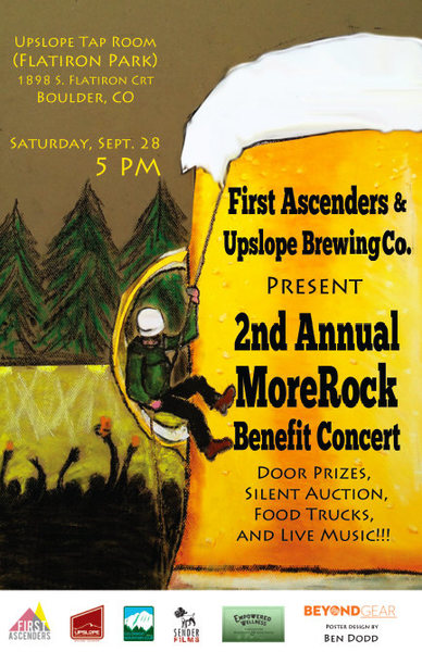 First Ascenders Fundraiser poster.