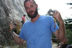 Rock Climbing Photo: the cam man