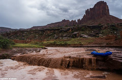 Rock Climbing Photo: came for the climbing,stayed for the boating. alpa...