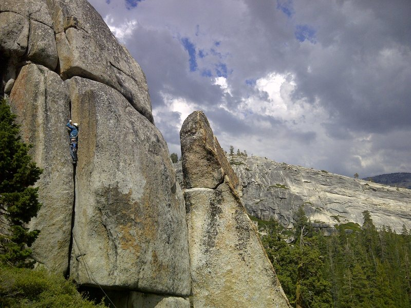 Rock Climbing Photo: valley giants at work