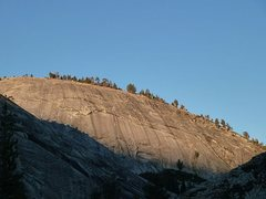 Rock Climbing Photo: Dusy Dome, Courtright Reservoir