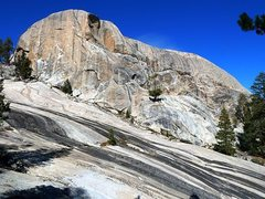 Rock Climbing Photo: Trapper Dome, Courtright Reservoir