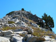 Rock Climbing Photo: Punk Rock (North Face), Courtright Reservoir