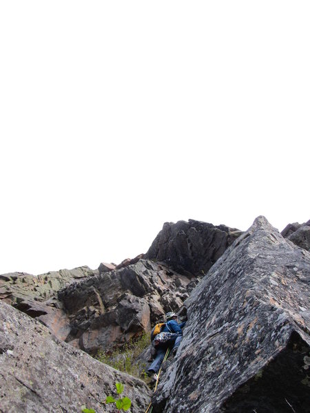 Beginning of the second pitch
