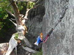 Rock Climbing Photo: Marie