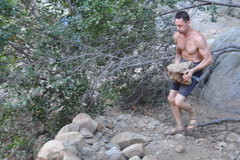 Rock Climbing Photo: Phil crosstraining for Gala