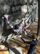 Rock Climbing Photo: iron cross.... Lincoln woods ri