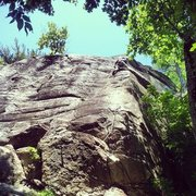 Rock Climbing Photo: Lonesome Dove rumneys most classic 5.10