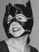 Rock Climbing Photo: Me as Catwoman for Halloween