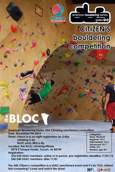 Rock Climbing Photo: comp flyer