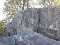 Rock Climbing Photo: Boulder Line