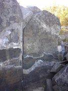 Rock Climbing Photo: Sunrise Warm-up to the right, with Vamanavataram t...