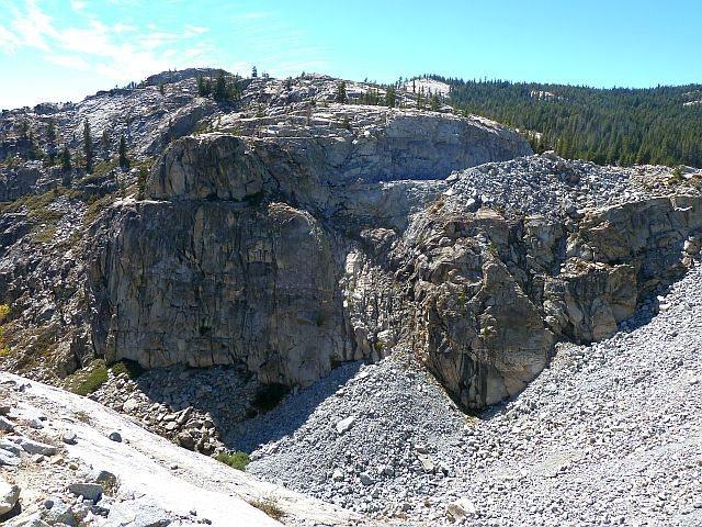 Rock Climbing Photo: Broken Tiers / Transformer Wall, Courtright Reserv...