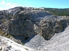 Rock Climbing Photo: Broken Tiers / Transformer Wall, Courtright Reserv...