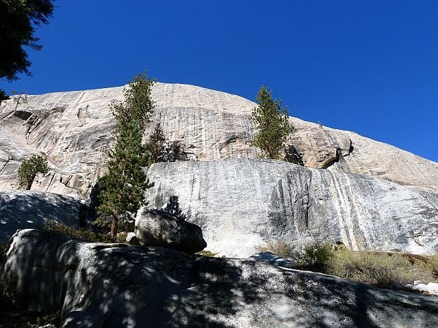 Rock Climbing Photo: Trapper Dome (South Face), Courtright Reservoir