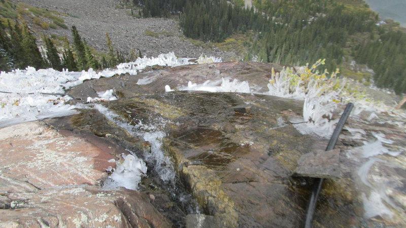 Rock Climbing Photo: Top of the pillars area.