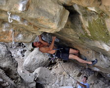 Rock Climbing Photo: Bambino on New Hell.
