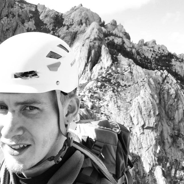 Topping out on Castle Domes West Ridge