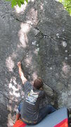 Rock Climbing Photo: Jonny Boy at the start.