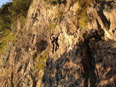 Rock Climbing Photo: Below anchors of Elida