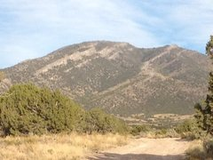 Rock Climbing Photo: Red Pine Peak from the West