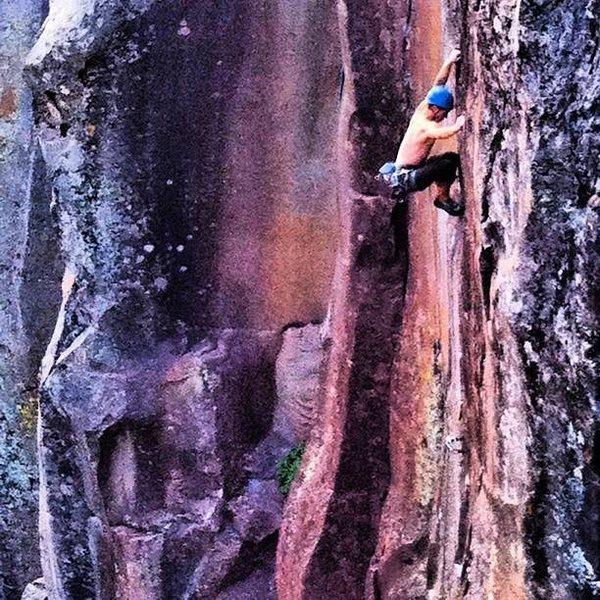 Rock Climbing Photo: Rumbleseat