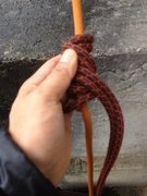 Rock Climbing Photo: rewrapping twice downwards for the outer coils to ...