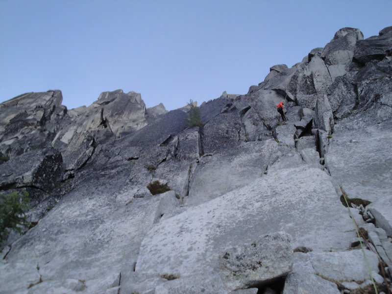 Rock Climbing Photo: rappel