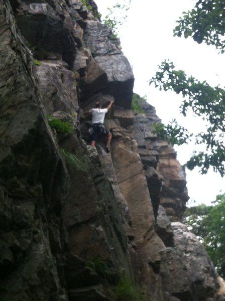 Rock Climbing Photo: Chuncle B