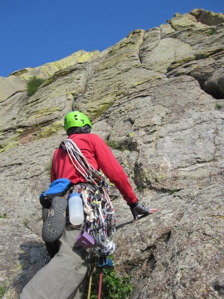 Rock Climbing Photo: Bottom El Cracko