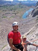 Rock Climbing Photo: Jonathan Baldassare and Steve Arsenault at the top...